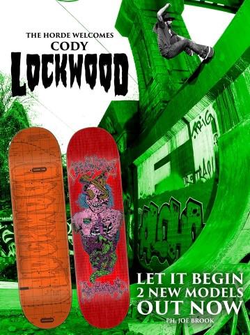 9 x 33 Creature Skateboards Willis Kimbel Oasis Skateboard Deck Power Ply