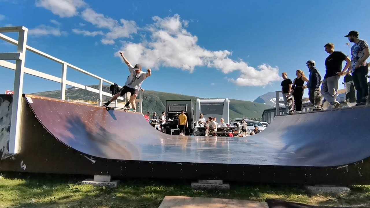 Skatejam p� Nansensplass video